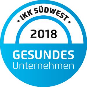 IKK - Gesundes Unternehmen 2018
