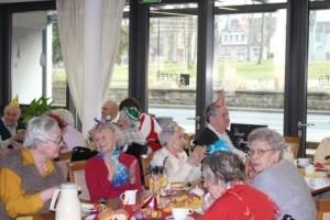 Faschingsfeier im Altenheim
