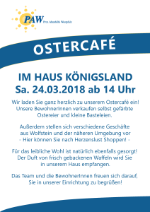 Ostercafé