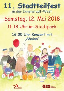 Plakat Stadtteilfest 2018